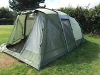 Outwell Oakland xl tent with footprint.