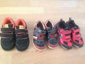Boys shoes size 9 and 9 and half