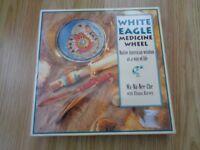 'White Eagle Medicine Wheel' cards and book (New and unused in original box)
