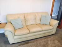 Leather Sofa 3 &2 seater