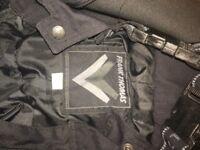 Ladies Rayven Kevlar motorbike jacket and trousers sm ladies