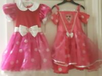 Minnie dresses both 3 /4 years