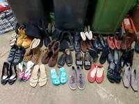 Job lot of shoes 50 ish pairs