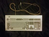 Lexmark made IBM Model M buckling spring mechanical keyboard