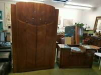 Wardrobe and dressing table vintage *free local delivery*