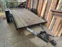 Trailer for sale just £250 o.n.o has new wooden base excellent sturdy trailer....