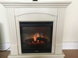 Fire surround with built in fire for sale