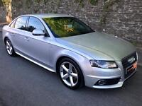 REDUCED!!!! 2009 AUDI A4 2.0 TDI (120) S LINE 4dr