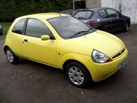 FORD KA 1-3 STYLE 2007. 61,000 MILES, SERVICE HISTORY, 2 LADY OWNERS FROM NEW, VERY ATTRACTIVE.
