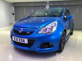 VAUXHALL CORSA 1.6 VXR BLUE EDITION 3d 189 BHP FREE DELIVERY TO YOUR DOOR (blue) 2011