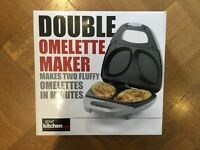 Brand New double omlette maker table top/camping
