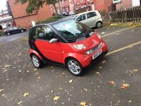 Smart city coupe automatic turbo 12 months mot