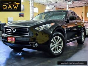 2012 Infiniti FX35 TECH PKG NAVIGATION REAR CAM LEATHER SUNROOF