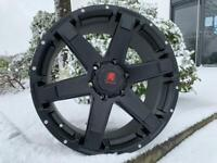"20"" x9 Tomahawk Chinook alloy wheels and tyres.. (6x139) Suitable for most Ford Ranger model"
