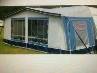 Full Caravan Awning with Annex and Caravan skirt