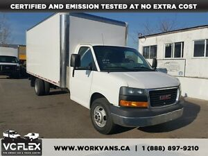 2015 GMC Savana G3500 16Ft Multivan Box V8 Gas