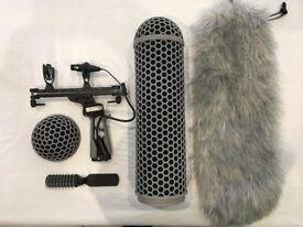Rode Blimp V2 With Rycote ShockMount Full Windshield Kit