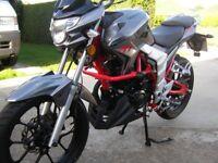 lexmoto Venom 125 cc SE ONLY 674 miles from new