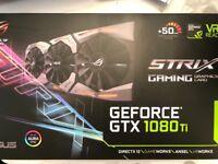 Geforce gtx 1080ti strix edition