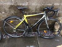 Giant SCR Racing bike (black and yellow) very good condition