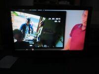 Sony 40in flat-screen TV