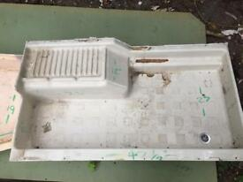 Caravan/ camper shower trays