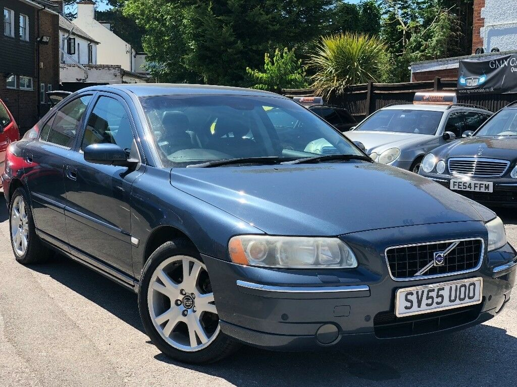 Volvo S60 2.4 D5 6 Speed Manual Service History Cambelt And Water Pump  Changed 2 Owners