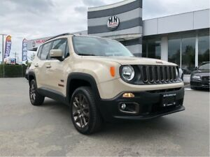 2016 Jeep Renegade Special Edition Removable Roof Low Kms