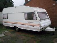 1992 Avondale Olympus 5 berth caravan