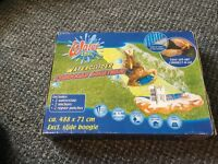 WATER ZONE, WATERSLIDE, 5MTR, EASY SET UP, CONNECT AND GO, NEW IN BOX.