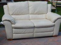 Good Quality Cream Leather Sofa