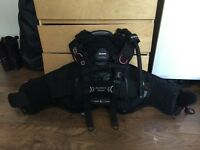 Mares Hybrid BCD Size XL and various other extra diving gear