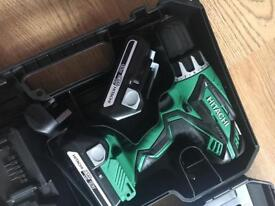 Hitachi DV18DGL combi hammer drill and planer brand new