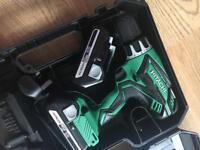 Hitachi DV18DGL combi hammer drill and planer brand new