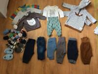 Baby boys clothes 0-3 Months okd