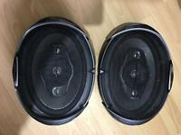 KENWOOD 6X9 CAR SPEAKERS 6X8 KFC-S6984 **USED BUT GOOD CONDITION**