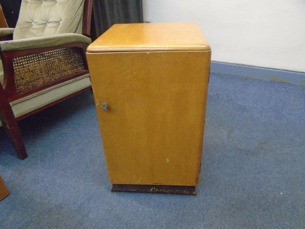 vintage bedside cabinet makers name majority furniture.