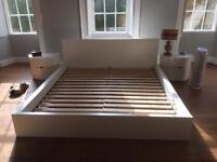 Ikea super king 6ft wide bed