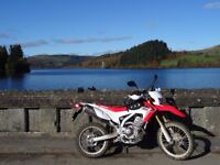 HONDA CRF250L WITH 2400 MILES