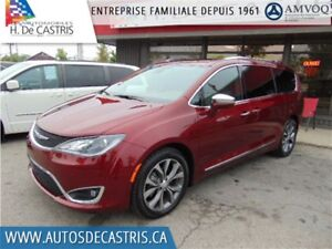 2017 Chrysler Pacifica LIMITED*NAVI, DVD, CAMÉRA DE RECUL, CUIR