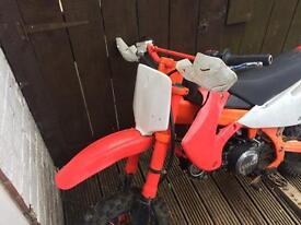 Pit bike bbr dirt bike not quad motorbike