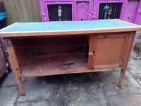 Good sized hutch good condition