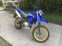 Yamaha XT125 X, 6873 miles. Very good condition.
