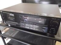 Aiwa Excelia XK-007 - top condition audiophile hi-fi stereo 3-head cassette deck - new belts fitted