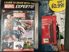 Brand new draw the marvel way magazine