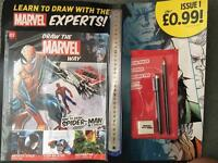 Brand new draw the marvel way magazine
