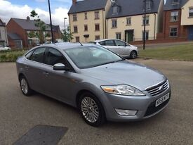 Ford Mondeo 1.8 TDCi Diesel 6 Speed 2008 2 Owners Cruise control Bluetooth Hands Free TOP SPEC