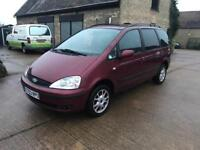 Ford galaxy 2.3 1 years mot cheap 7 seater