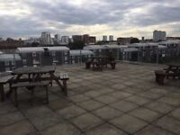 Bow/Canary Wharf E14. *AVAIL NOW* Large & Modern 4 Double Bed 2 Bath Furnished Flat + Roof Terrace