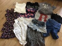 Bundle of girls clothes. 10-11 years